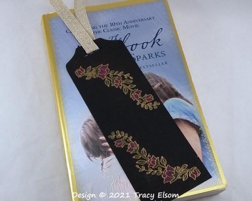 BM334 Quite Curvy Black Magic Bookmark