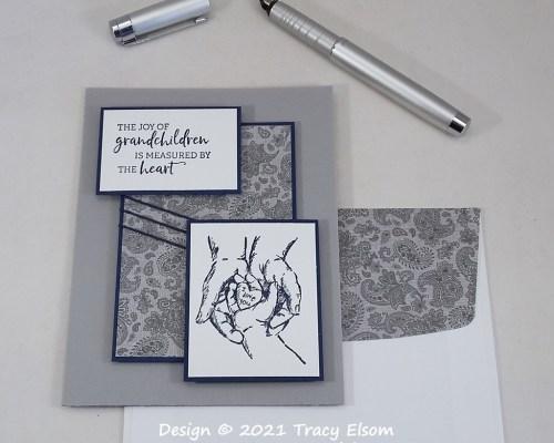 2186 Joy Of Grandchildren Card