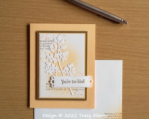 2204 You're Too Kind Card