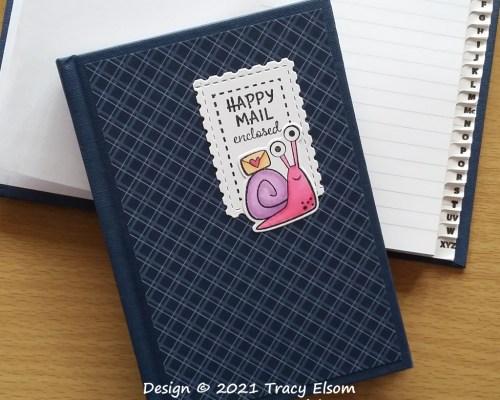 P162 Happy Mail Address Book