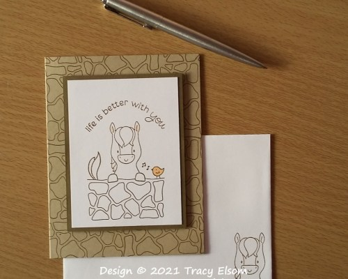 2208 Life Is Better With You Card