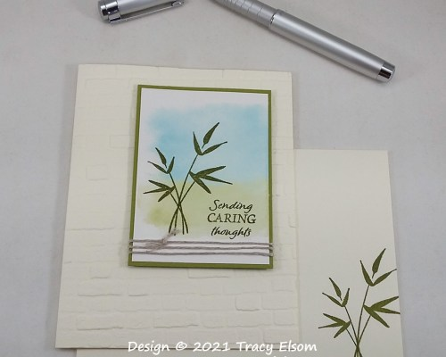 2234 Sending Caring Thoughts Card