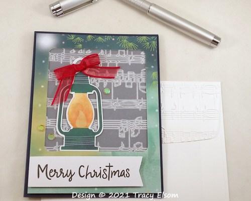 2255 Merry Christmas (Lantern) Card