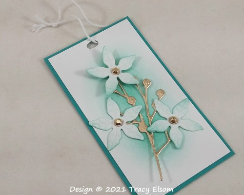 Not A Poinsettia Gift Tag
