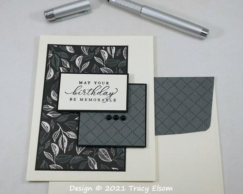 2260 Simple Memorable Birthday Card