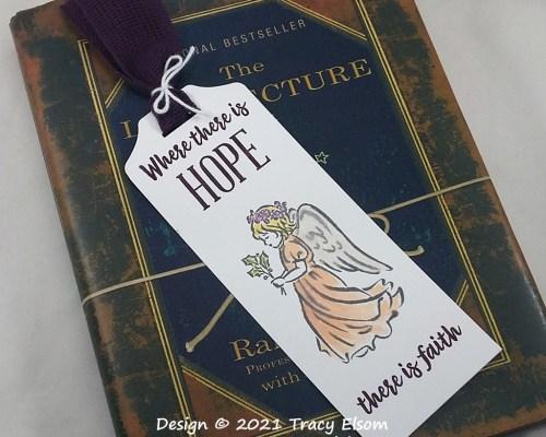BM361 Hope And Faith Bookmark
