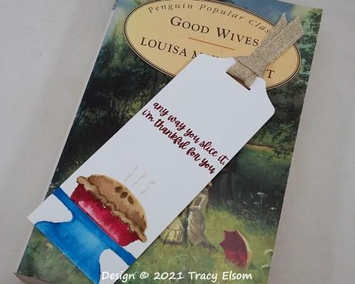BM364 Apple Pie Bookmark