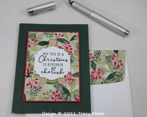 2275 Christmas To Remember Card