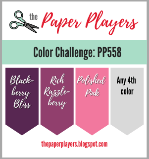 The Paper Players Color Challenge PP558 (Sep 12-17, 2021)
