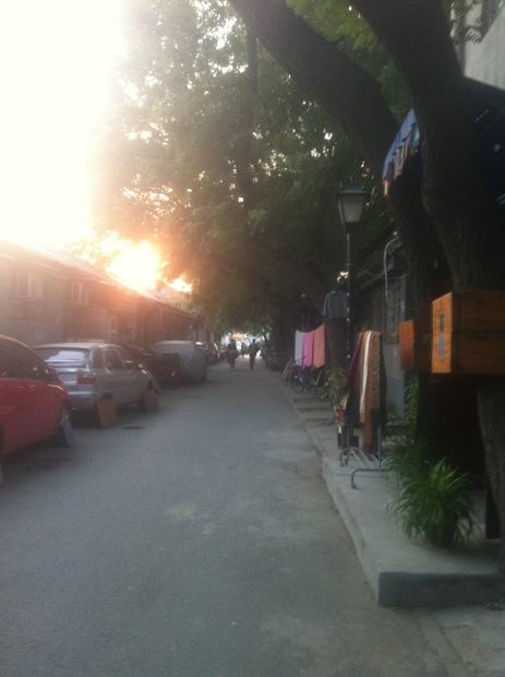 Hutong in the evening