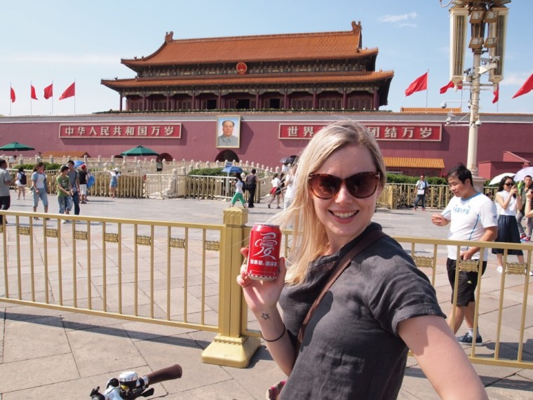 Coke and Mao, Tiananmen