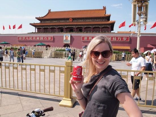 Coke and Mao, Tiananmen