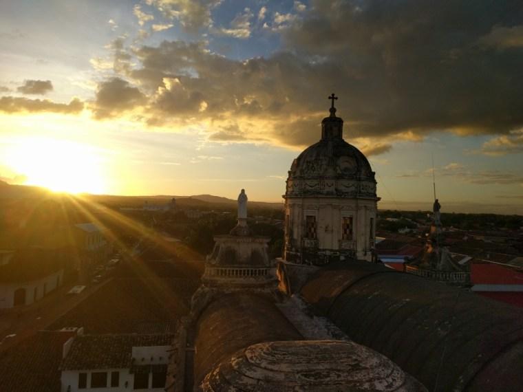 Sunset Granada Nicaragua