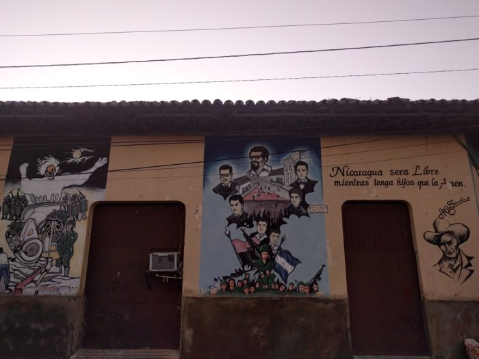 Revolution Murals Leon Nicaragua