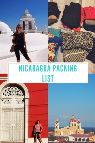 Packing for Nicaragua
