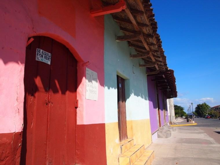 Colourful Buildings Granada Nicaragua