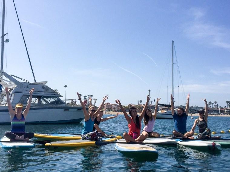 Bliss Paddle Yoga Newport Beach