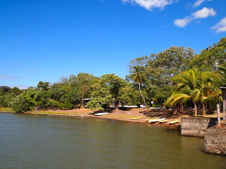 Swimming Ometepe Nicaragua