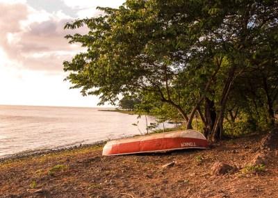 Fishing boat Ometepe