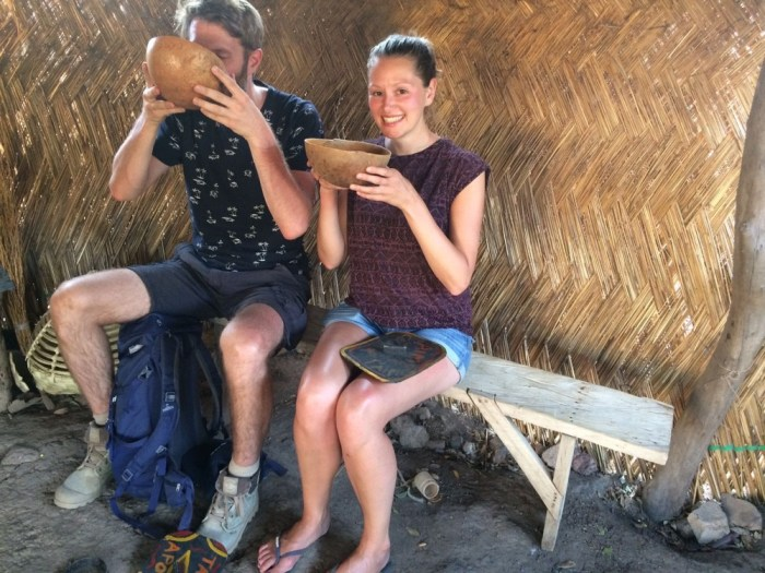 Local beer maquis Burkina Faso