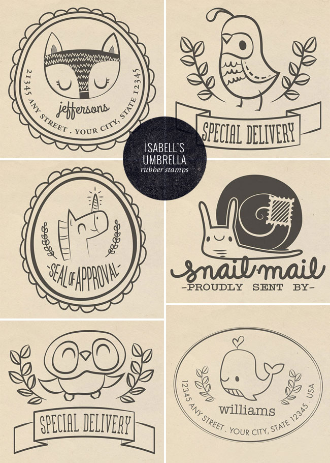cute stamps by isabell