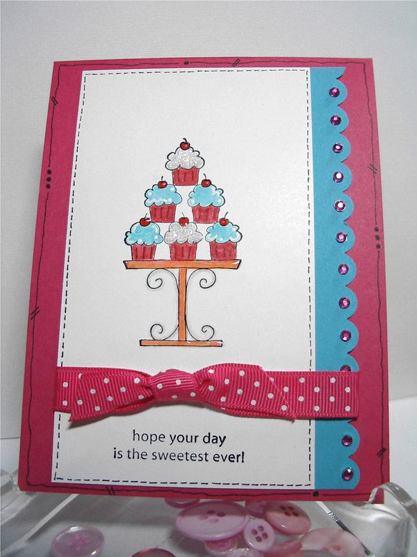 Sunday Crazy For Cupcakes Stampin Up! Birthday