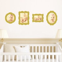 Antique Photo Frame Wall Decals | Paper Culture