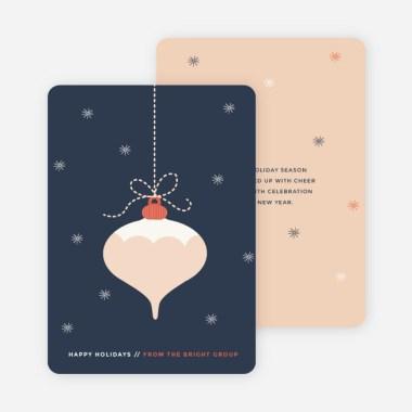 Ornament Christmas Cards Photo