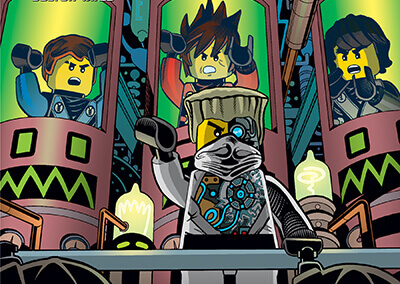"Lego Ninjago #9 Preview: ""Night of the Nindroids"""