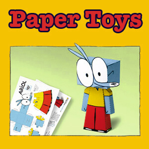 Ariol_Paper_Toys_graphic