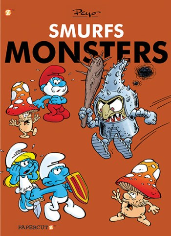 Smurfs Monsters Cover