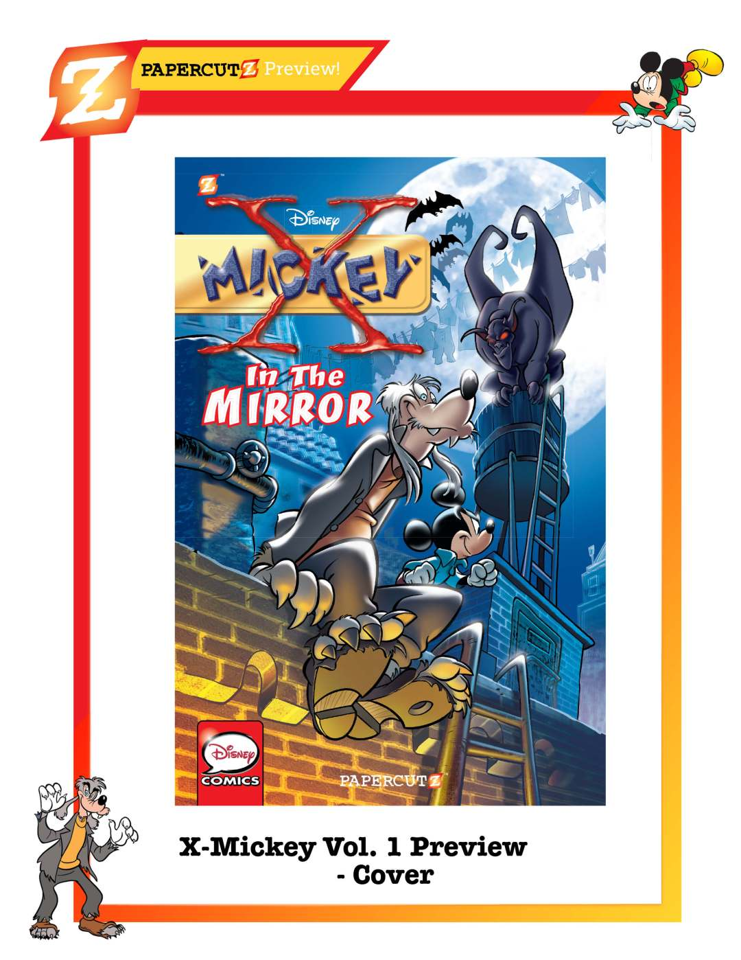 Disney_X-Mickey_PREVIEW_cover