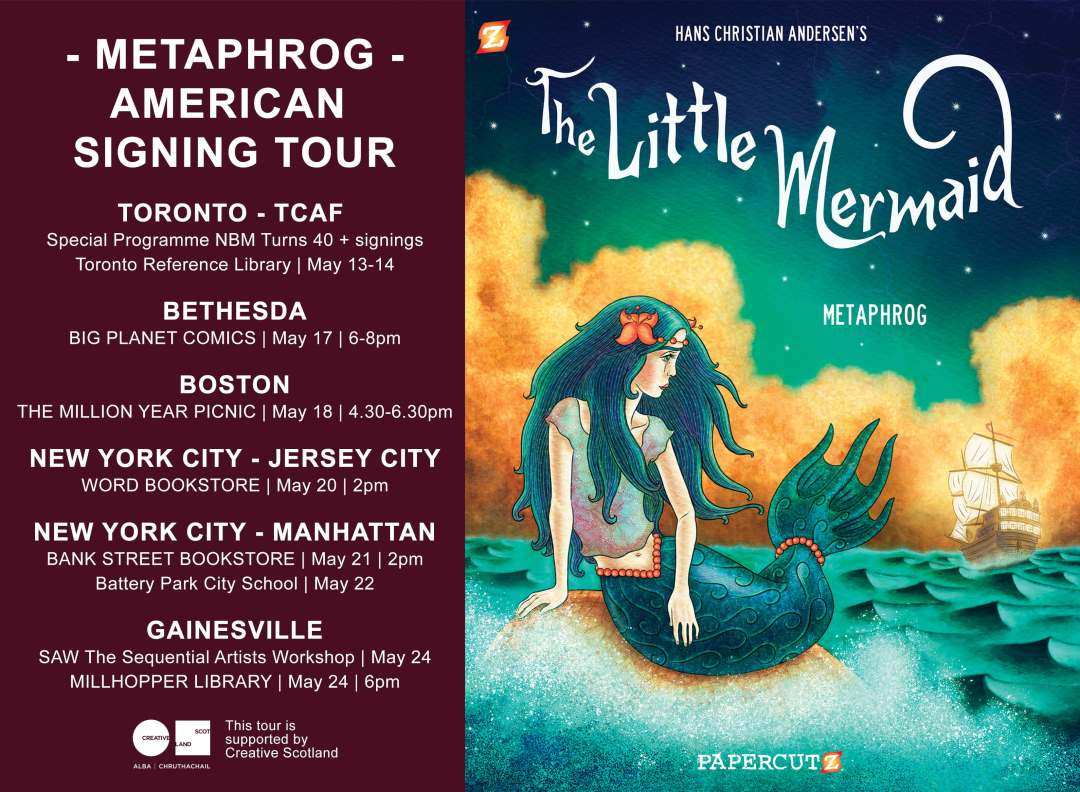 METAPHROG-TOUR-LITTLE MERMAID