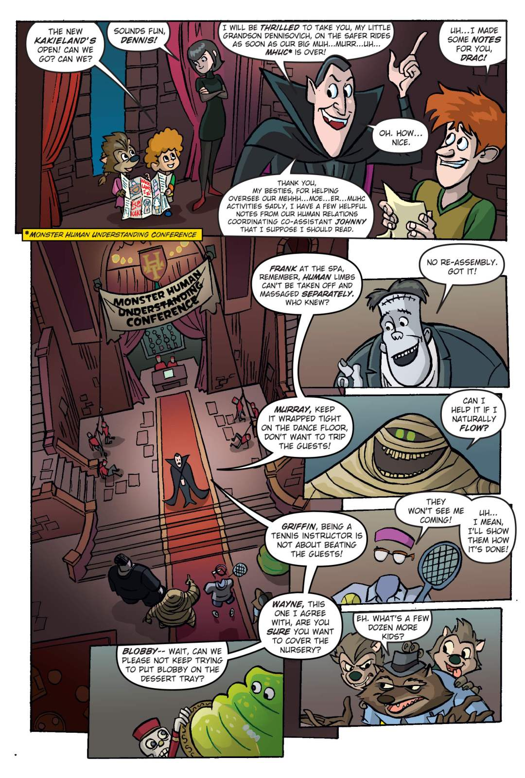 Hotel Transylvania Preview Page 2