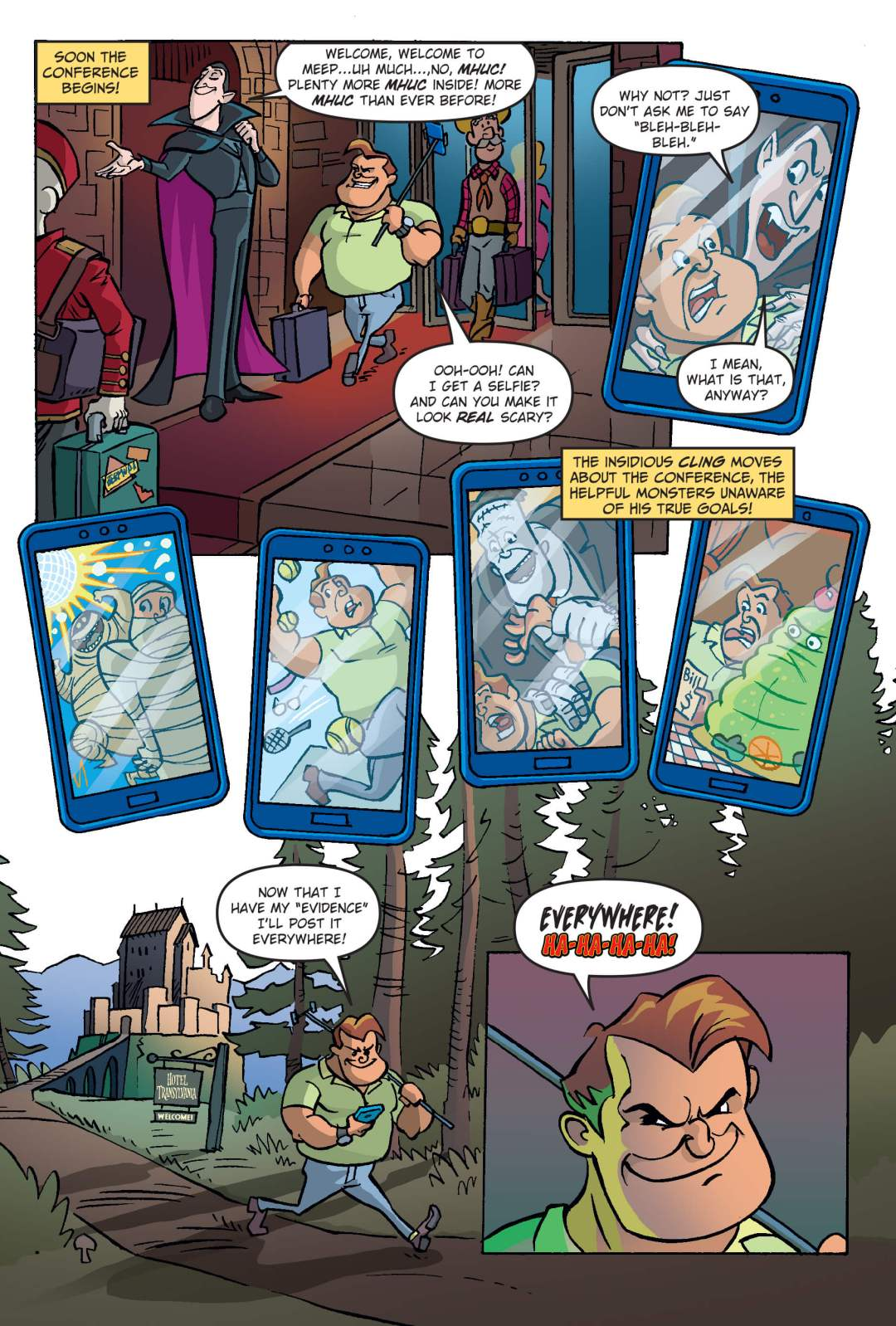 Hotel Transylvania Preview Page 3