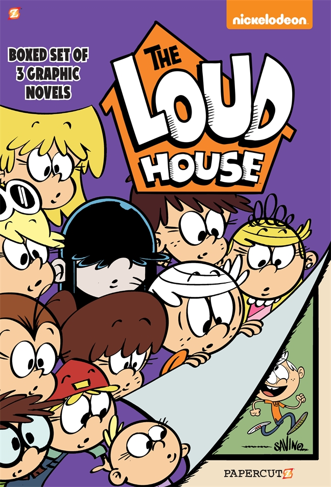 The Loud House Boxed Set: Vol  #1-3