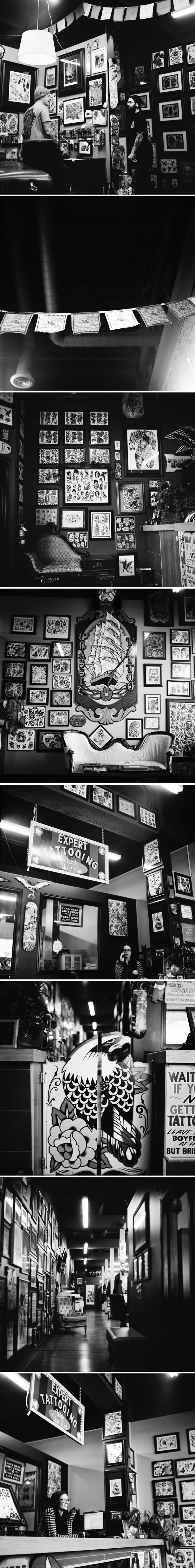 Classic Tattoo | Red Deer Alberta | ©The Paper Deer Photography