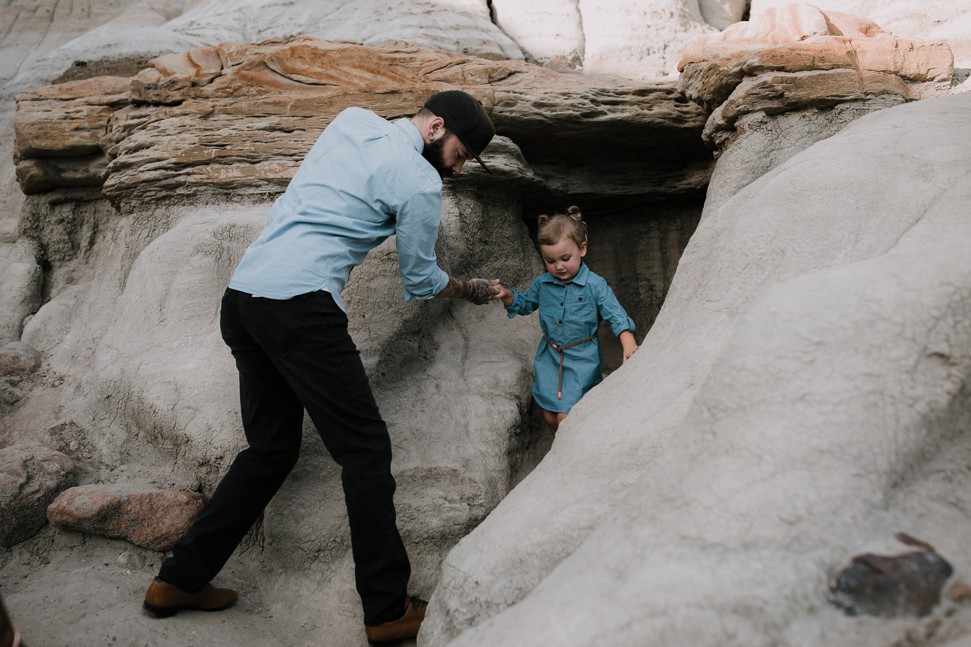 Drumheller Family Connection Session | Brooker Family, Drumheller Family Photography | ©The Paper Deer Photography | paperdeerphoto.com, Alberta Family Photographer, Banff Family Photographer