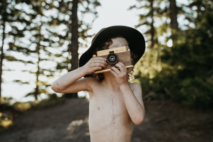 Alberta Family Photographer, Banff Family Photographer, Father's Factory Wood Cameras