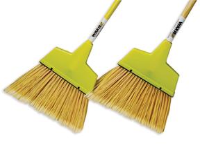 """54"""" Plastic Upright Broom - Metal Handle"""