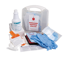 Biohazard Response Spill Kit (2 uses/case)