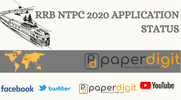 Application status, RRB NTPC 2020 Admit Card, Exam Status Update, Railway naukri admit card