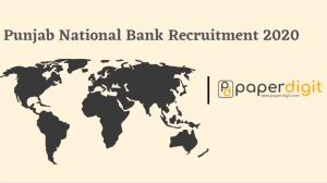 Punjab National Bank Recruitment 2020-Apply Now