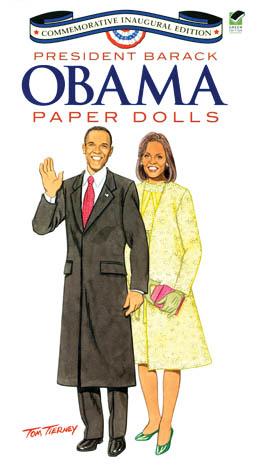 Obama paper dolls