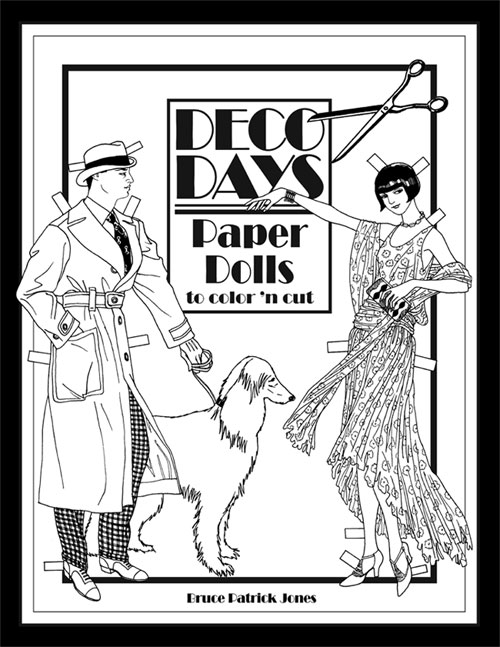 Coloring Books : Paper Dolls of Classic Stars, Vintage