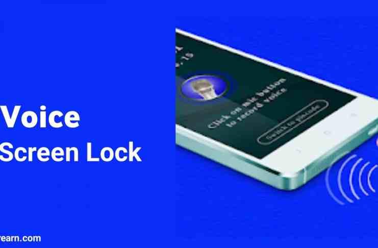 Voice Lock Screen App