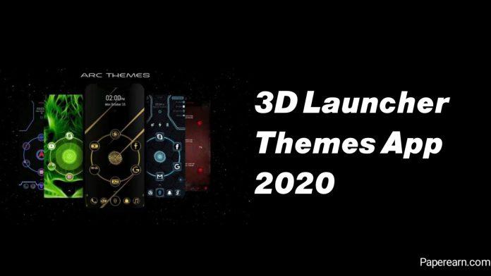 3D Launcher App
