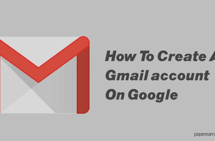 How to create a Gmail account on Google