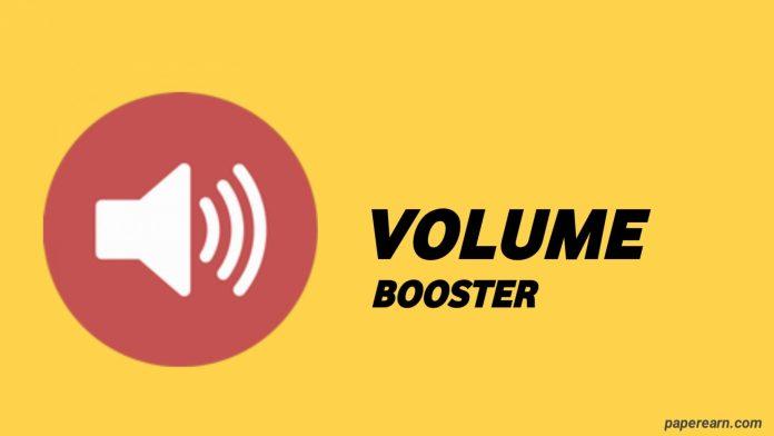 Volume Booster Sound Effect