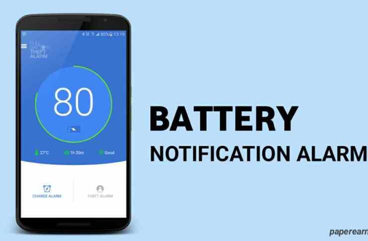 Full Battery Alarm App
